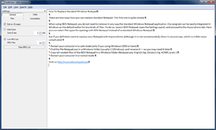 Open BDV Notepad screen shot in a separate window